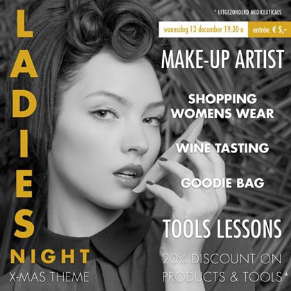 Morgenavond Ladies Night bij Joolz Hairstyle
