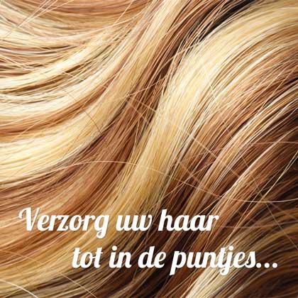 Haarverzorging tot in de puntjes!