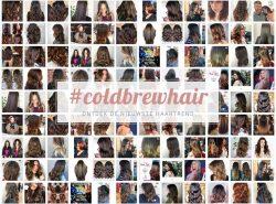 Cold brew hair, de nieuwste haartrend