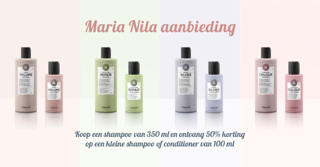 Maria Nila aanbieding | Joolz Hairstyle