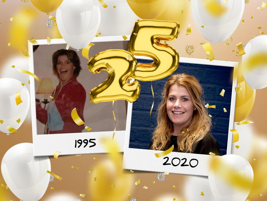 Chantal 25 jaar in dienst   Joolz Hairstyle